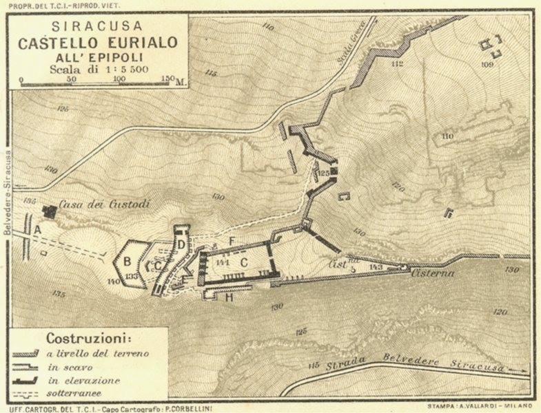Castello Eurialo – Siracusa